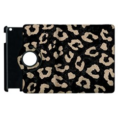 Skin5 Black Marble & Sand Apple Ipad 3/4 Flip 360 Case by trendistuff