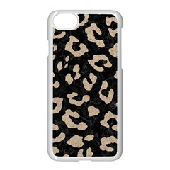 Skin5 Black Marble & Sand Apple Iphone 8 Seamless Case (white)