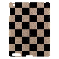 Square1 Black Marble & Sand Apple Ipad 3/4 Hardshell Case by trendistuff