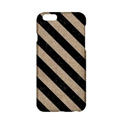 Stripes3 Black Marble & Sand Apple Iphone 6/6s Hardshell Case