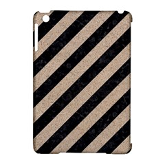 Stripes3 Black Marble & Sand (r) Apple Ipad Mini Hardshell Case (compatible With Smart Cover) by trendistuff