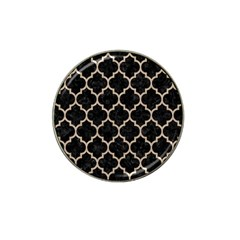 Tile1 Black Marble & Sand (r) Hat Clip Ball Marker (10 Pack) by trendistuff