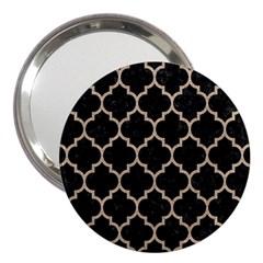 Tile1 Black Marble & Sand (r) 3  Handbag Mirrors by trendistuff