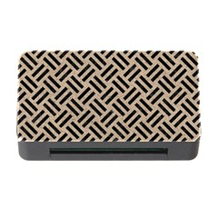 Woven2 Black Marble & Sand Memory Card Reader With Cf by trendistuff