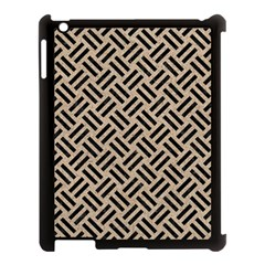 Woven2 Black Marble & Sand Apple Ipad 3/4 Case (black) by trendistuff