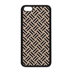 Woven2 Black Marble & Sand Apple Iphone 5c Seamless Case (black) by trendistuff