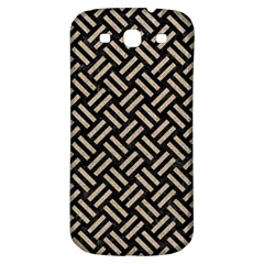 Woven2 Black Marble & Sand (r) Samsung Galaxy S3 S Iii Classic Hardshell Back Case by trendistuff