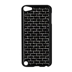 Brick1 Black Marble & Silver Foil (r) Apple Ipod Touch 5 Case (black) by trendistuff