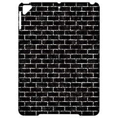 Brick1 Black Marble & Silver Foil (r) Apple Ipad Pro 9 7   Hardshell Case by trendistuff