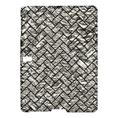 Brick2 Black Marble & Silver Foil Samsung Galaxy Tab S (10 5 ) Hardshell Case  by trendistuff