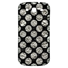 Circles2 Black Marble & Silver Foil (r) Samsung Galaxy S3 S Iii Classic Hardshell Back Case by trendistuff