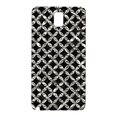 Circles3 Black Marble & Silver Foil (r) Samsung Galaxy Note 3 N9005 Hardshell Back Case by trendistuff