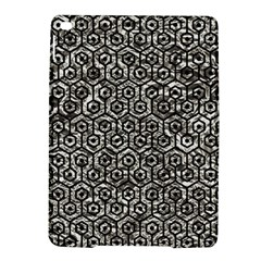 Hexagon1 Black Marble & Silver Foil Ipad Air 2 Hardshell Cases by trendistuff