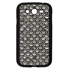 Scales2 Black Marble & Silver Foil Samsung Galaxy Grand Duos I9082 Case (black) by trendistuff