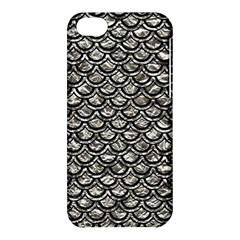 Scales2 Black Marble & Silver Foil Apple Iphone 5c Hardshell Case by trendistuff