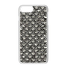 Scales2 Black Marble & Silver Foil Apple Iphone 7 Plus Seamless Case (white) by trendistuff