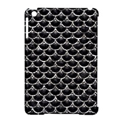 Scales3 Black Marble & Silver Foil (r) Apple Ipad Mini Hardshell Case (compatible With Smart Cover) by trendistuff
