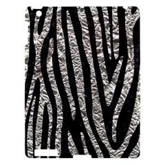 Skin4 Black Marble & Silver Foil Apple Ipad 3/4 Hardshell Case by trendistuff