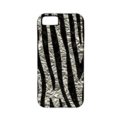 Skin4 Black Marble & Silver Foil (r) Apple Iphone 5 Classic Hardshell Case (pc+silicone) by trendistuff