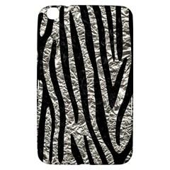 Skin4 Black Marble & Silver Foil (r) Samsung Galaxy Tab 3 (8 ) T3100 Hardshell Case  by trendistuff
