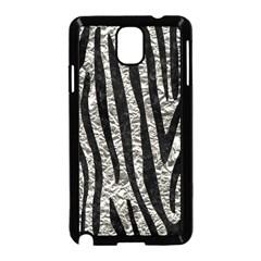 Skin4 Black Marble & Silver Foil (r) Samsung Galaxy Note 3 Neo Hardshell Case (black) by trendistuff