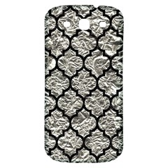 Tile1 Black Marble & Silver Foil Samsung Galaxy S3 S Iii Classic Hardshell Back Case by trendistuff