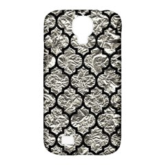Tile1 Black Marble & Silver Foil Samsung Galaxy S4 Classic Hardshell Case (pc+silicone) by trendistuff