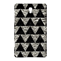 Triangle2 Black Marble & Silver Foil Samsung Galaxy Tab S (8 4 ) Hardshell Case  by trendistuff