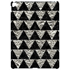 Triangle2 Black Marble & Silver Foil Apple Ipad Pro 12 9   Hardshell Case