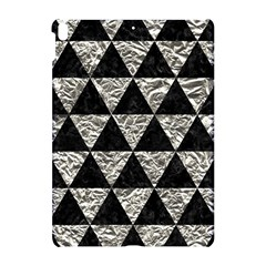 Triangle3 Black Marble & Silver Foil Apple Ipad Pro 10 5   Hardshell Case by trendistuff