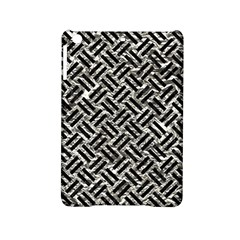 Woven2 Black Marble & Silver Foil Ipad Mini 2 Hardshell Cases by trendistuff
