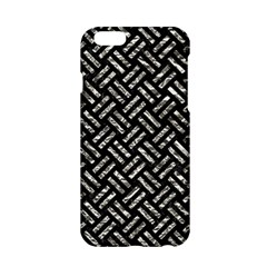 Woven2 Black Marble & Silver Foil (r) Apple Iphone 6/6s Hardshell Case