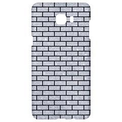 Brick1 Black Marble & Silver Glitter Samsung C9 Pro Hardshell Case  by trendistuff