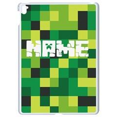 Minecraft Apple Ipad Pro 9 7   White Seamless Case by PhotoThisxyz