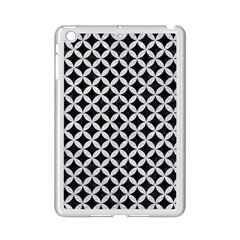 Circles3 Black Marble & Silver Glitter (r) Ipad Mini 2 Enamel Coated Cases by trendistuff