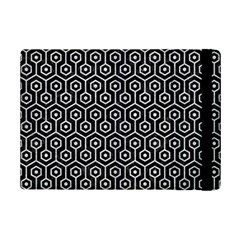 Hexagon1 Black Marble & Silver Glitter (r) Ipad Mini 2 Flip Cases by trendistuff