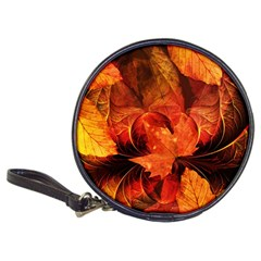 Ablaze With Beautiful Fractal Fall Colors Classic 20 Cd Wallets by jayaprime