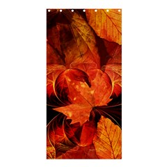 Ablaze With Beautiful Fractal Fall Colors Shower Curtain 36  X 72  (stall)  by beautifulfractals