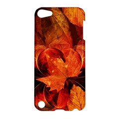 Ablaze With Beautiful Fractal Fall Colors Apple Ipod Touch 5 Hardshell Case by beautifulfractals