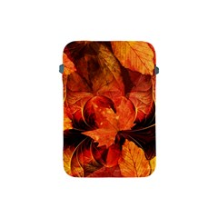 Ablaze With Beautiful Fractal Fall Colors Apple Ipad Mini Protective Soft Cases by jayaprime