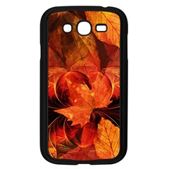 Ablaze With Beautiful Fractal Fall Colors Samsung Galaxy Grand Duos I9082 Case (black) by jayaprime