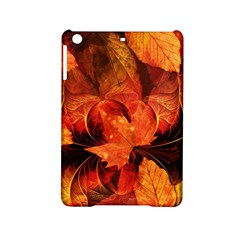 Ablaze With Beautiful Fractal Fall Colors Ipad Mini 2 Hardshell Cases by jayaprime