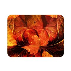 Ablaze With Beautiful Fractal Fall Colors Double Sided Flano Blanket (mini)  by beautifulfractals