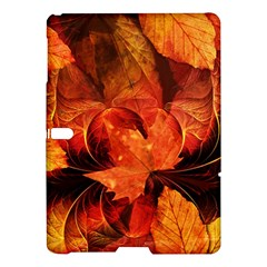 Ablaze With Beautiful Fractal Fall Colors Samsung Galaxy Tab S (10 5 ) Hardshell Case  by beautifulfractals