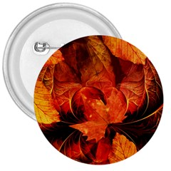Ablaze With Beautiful Fractal Fall Colors 3  Buttons by beautifulfractals