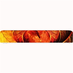 Ablaze With Beautiful Fractal Fall Colors Small Bar Mats by jayaprime