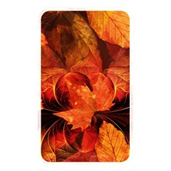 Ablaze With Beautiful Fractal Fall Colors Memory Card Reader by jayaprime