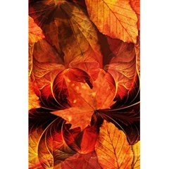 Ablaze With Beautiful Fractal Fall Colors 5 5  X 8 5  Notebooks by jayaprime