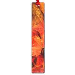 Ablaze With Beautiful Fractal Fall Colors Large Book Marks by beautifulfractals