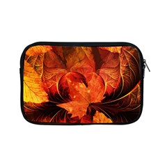 Ablaze With Beautiful Fractal Fall Colors Apple Ipad Mini Zipper Cases by jayaprime